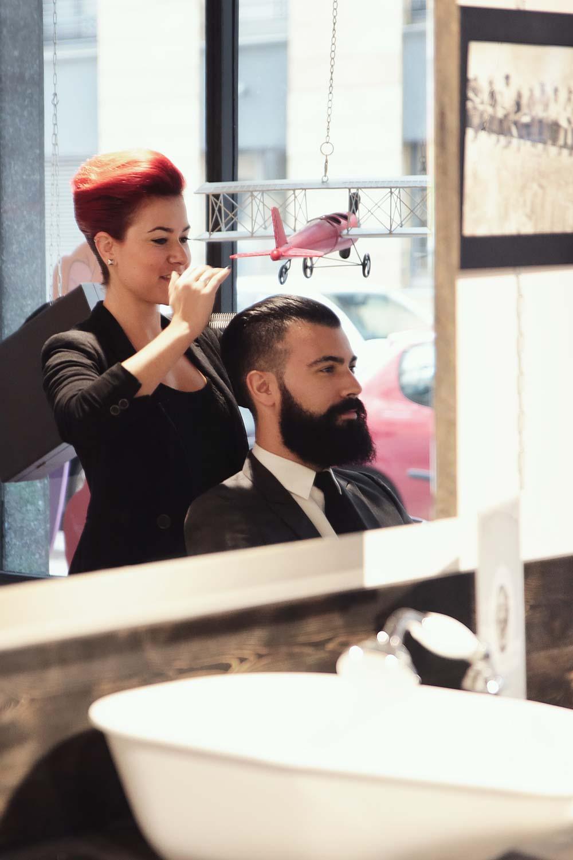 l 39 atelier vintage lyon coiffeur barbier pour homme coupe ciseau et rasoir coupe choux. Black Bedroom Furniture Sets. Home Design Ideas
