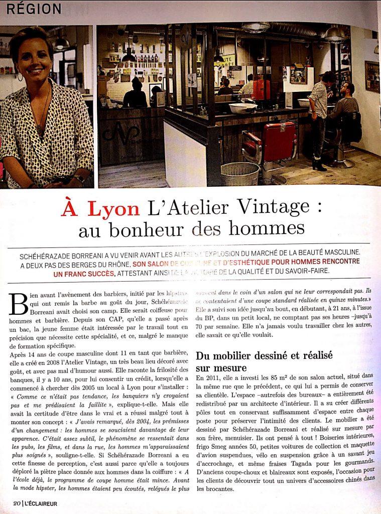 l 39 eclaireur l 39 atelier vintage au bonheur des hommes. Black Bedroom Furniture Sets. Home Design Ideas