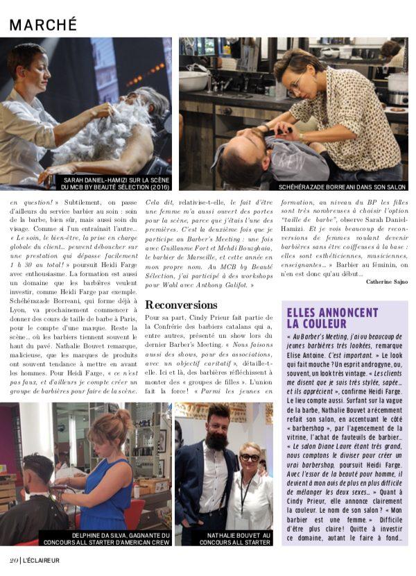Article de presse barbieres L'Eclaireur 4