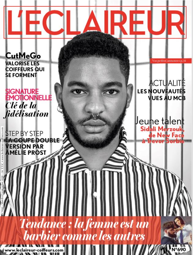 Article de presse barbieres L'Eclaireur